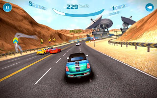 Game Asphalt Nitro mod unlimited money