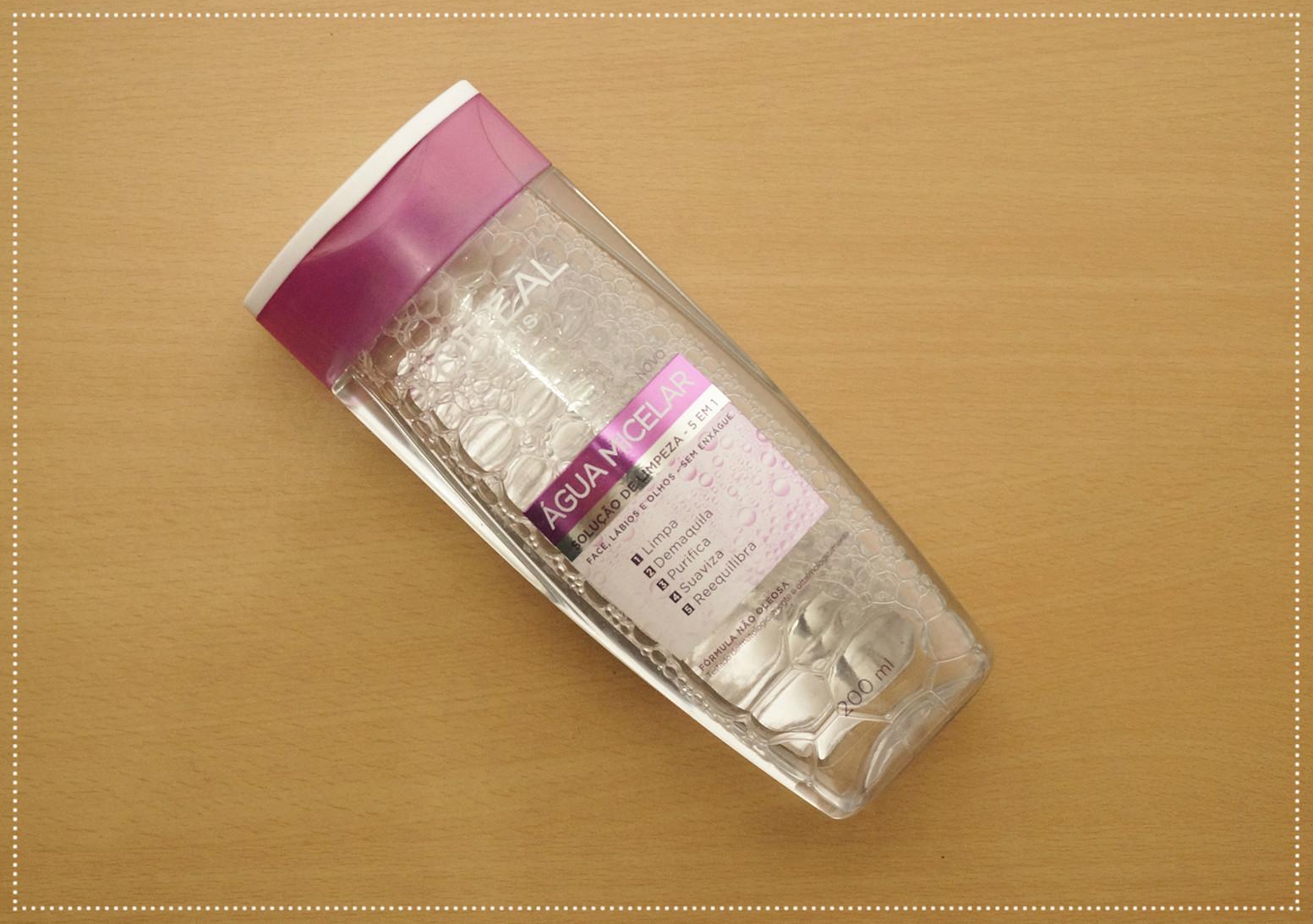 água micelar L'Oréal,água micelar L'Oréal, demaquilante loreal, loreal, produtos loreal, água loreal, loção loreal