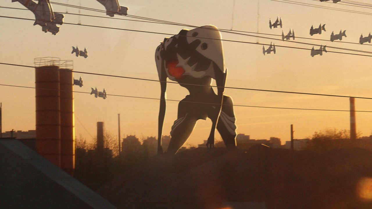 Evangelion Revoltz- Anime na vida real VSA Você sabia anime