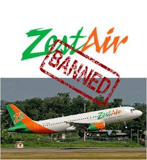 Zest Air Flights Suspended