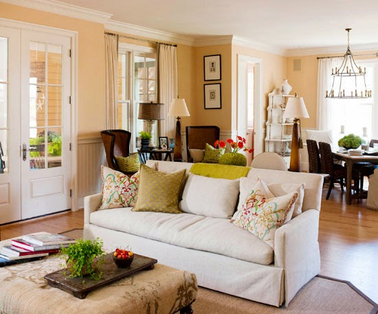 Divide Large Es With Seating If Your Living Room Is The Setting For Parties Bring Intimacy And A Comfortable Sense Of Scale To By