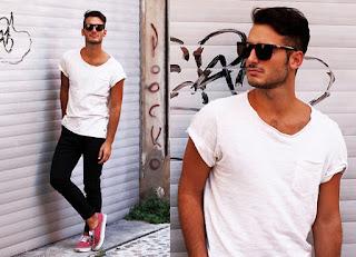 visual preto e branco masculino como usar, look masculino para balada (1)