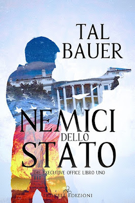 Cover, Tal Bauer, Triskell Edizioni, The Executive Office