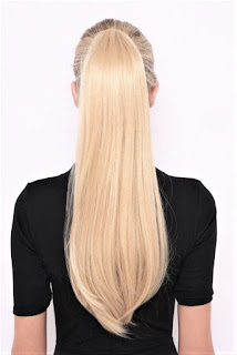 Blond Ponytail Hair Extension