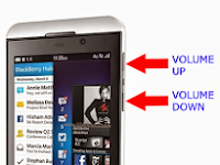 Cara Screenshot Blackberry Z10 Tanpa Aplikasi Tambahan
