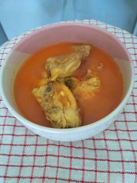 Resep gulai ayam tempoyak ala rumah makan ciwidey