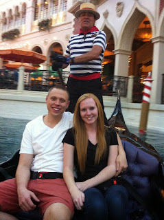 gondola ride in the venetian hotel