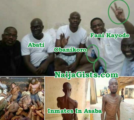 rich nigerian politicians behind bar