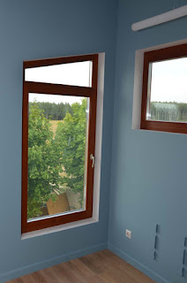 Окна из дерева трапеция