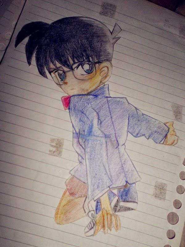 Suka Anime Saat SDSMP 1  Menggambar Anime  MY LIFE