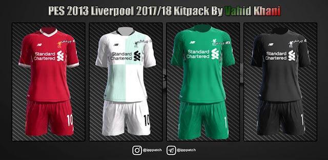 Liverpool 2017-18 Kit PES 2013
