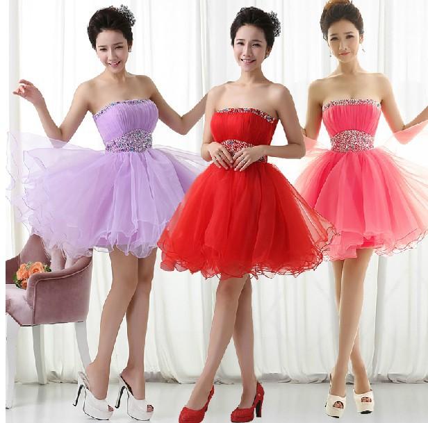 Vestidos de dama para quinceanera