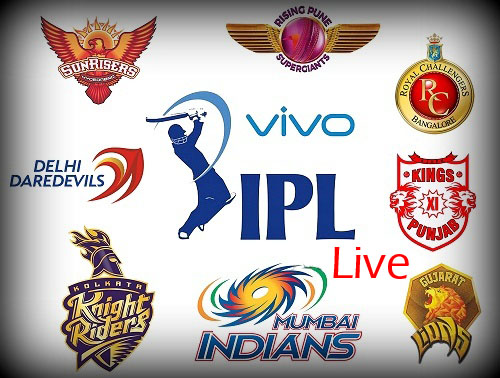 IPL 2016 Live Streaming, Scores