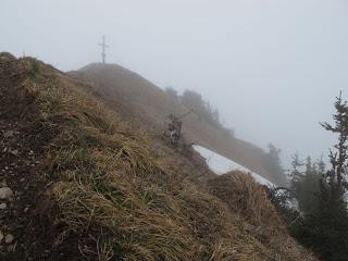 Der Gipfel des Buralpkopfes