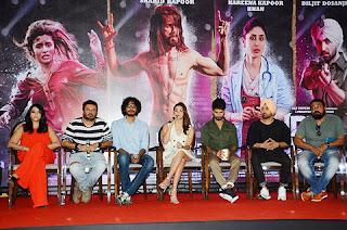 The team of the movie 'Udta Punjab'