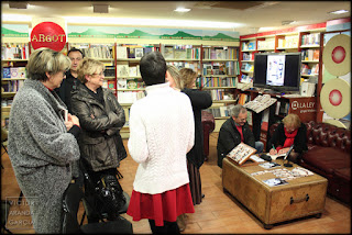 libros,firma,petra,castellon,presentacion,foto,argot,libreria