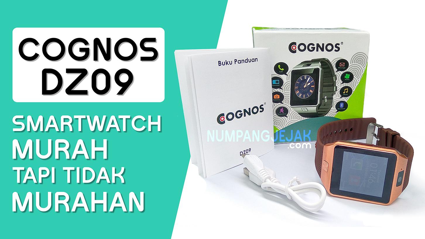 Review Ulasan COGNOS DZ09 Smartwatch - Jam tangan pintar Murah Meriah