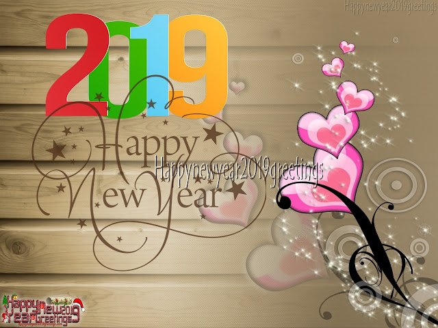 Happy New Year 2019 Romantic Love Greetings Download Free