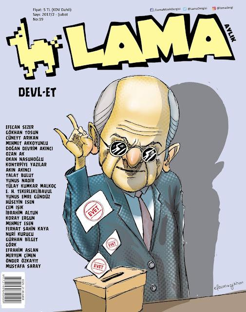 Lama Dergisi | 2 Şubat 2017 Kapak Karikatürü