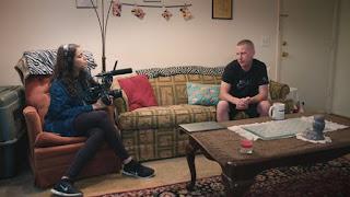 "Filmmaker Deeyah Khan interviewed Ken Parker for her documentary, ""White Right: Meeting the Enemy."" (Photo: Fuuse Films)"