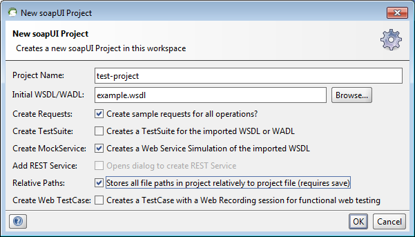 How to create mock service in soapui without wsdl