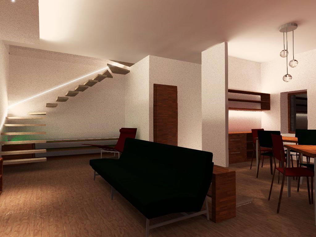 Illuminazione soggiorno con lampade realizzazione illuminazione