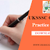 Uttarakhand UKSSSC Group C Practice Set - 1