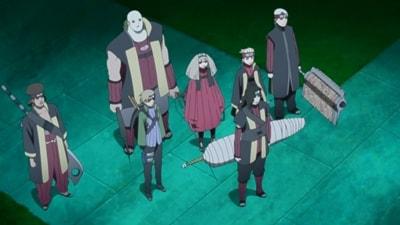 En este capítulo se presentan los nuevos siete espadachines de la niebla.