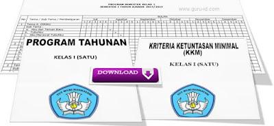 gambar download Prota, Promes dan KKM Kurikulum 2013 Revisi Untuk Kelas 1 SD/MI