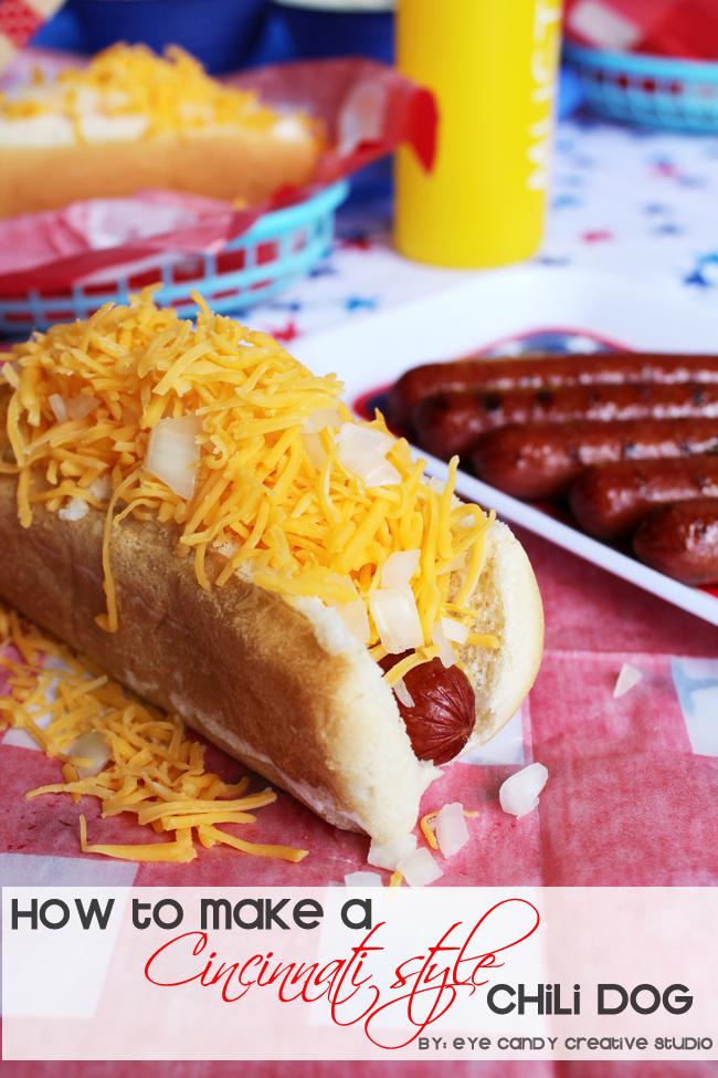how to make a cincinnati chili dog, hot dog, hebrew national, chili dog, cinci