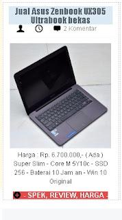Pasar Laptop Built UP Hanya Untuk Orang tertentu Saja