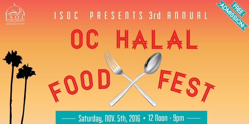 Nov. 5 | Explore a Variety of Food at the OC Halal Food Fest in Garden Grove!