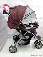 3 Kereta Bayi BabyDoes CH290 Jogger Roda Tiga