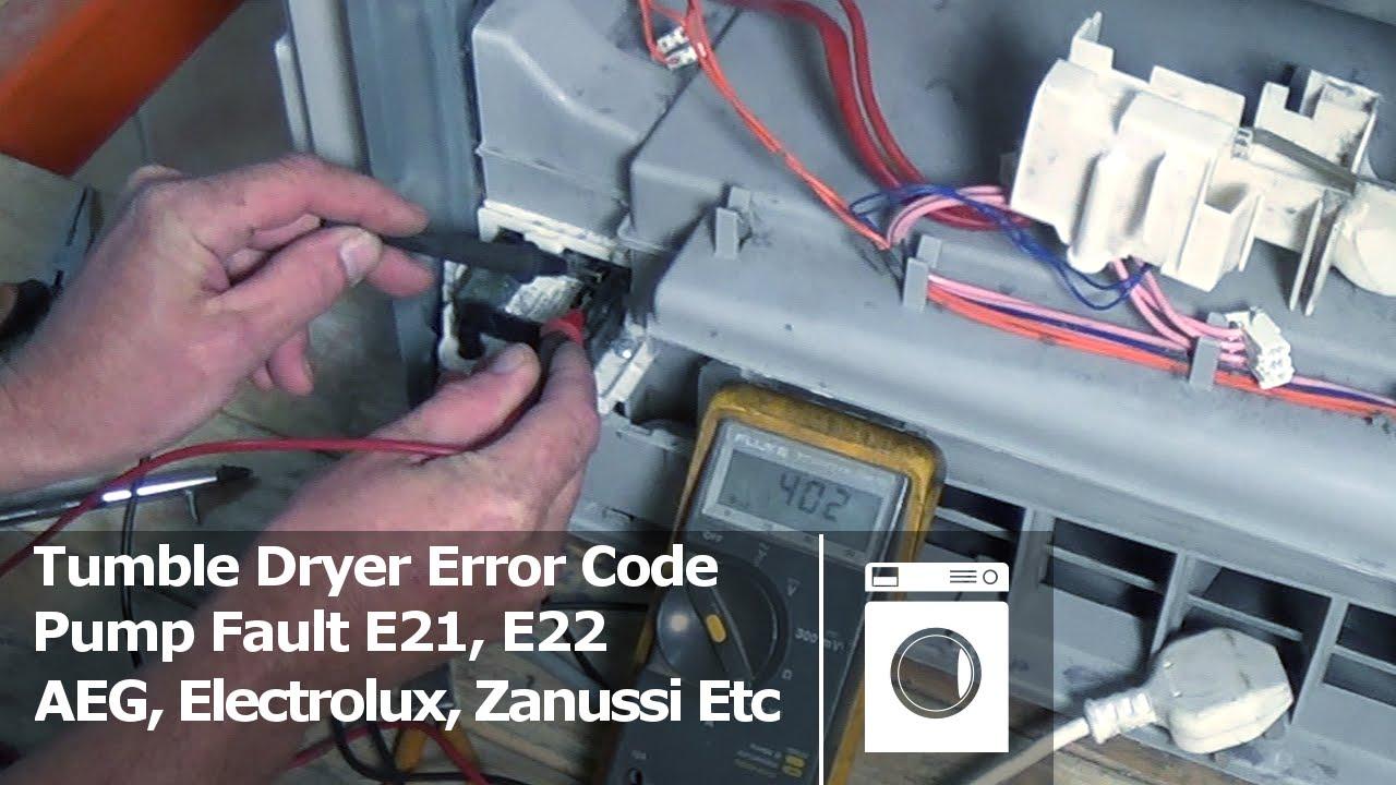 Aeg Lavamat E20 Error Code Aeg Lavamat
