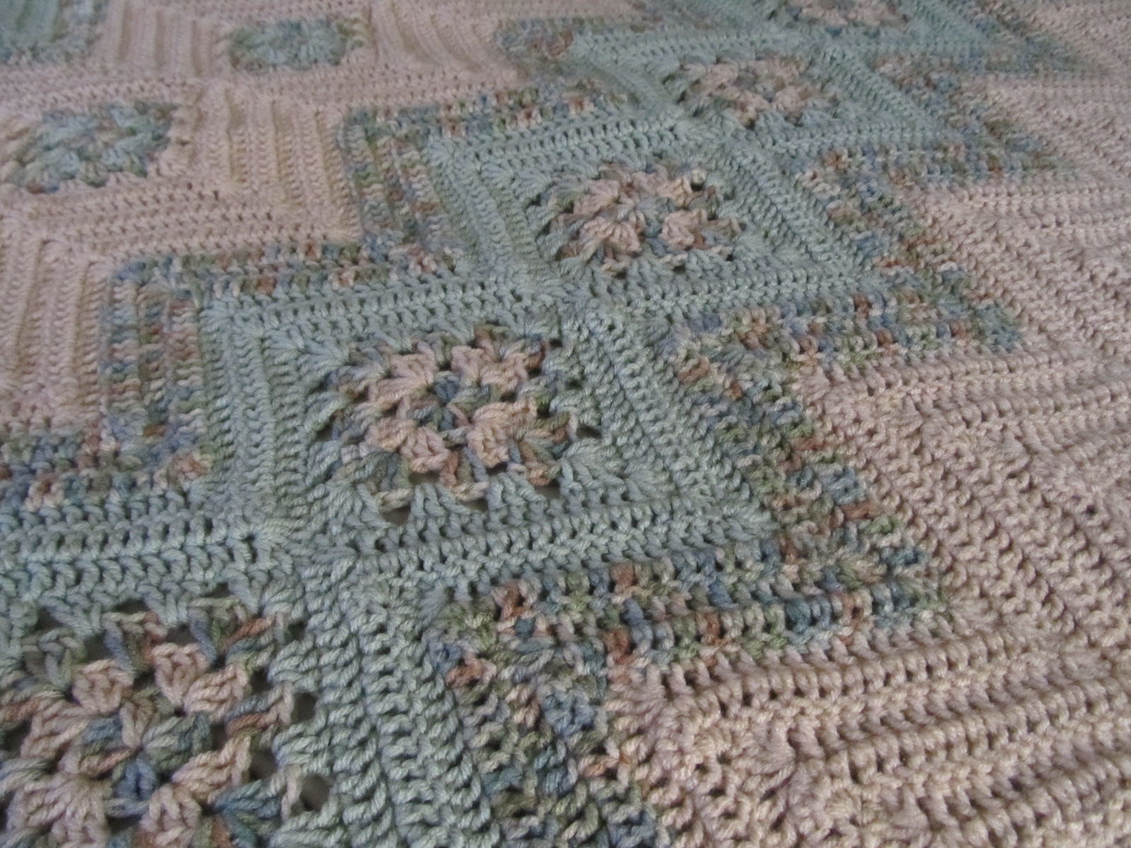 Simply Crochet And Other Crafts Grannies And Ripples Afghan