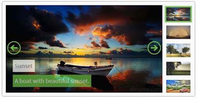 Featured Image Slider di Halaman Depan Blogger