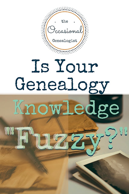 "Is Your Genealogy Knowledge ""Fuzzy"""