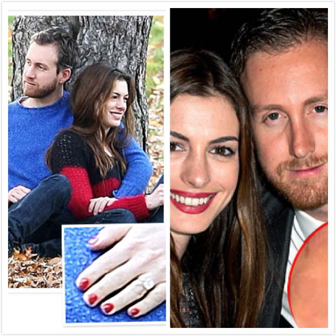 Anne Hathaway And Husband Wedding: Dream Wedding Girls: Jennifer Aniston's Engagement Ring