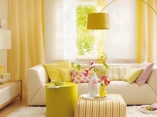 Cortinados Amarelos