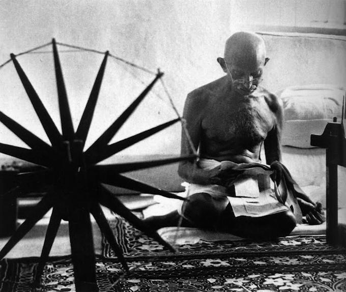 Margaret Bourke-White's Portrait of Gandhi
