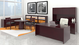 Traditional Wood Veneer Executive Furniture at OfficeAnything.com