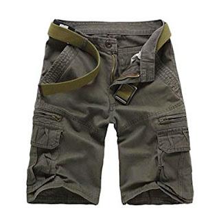 Multi Pocket Casual Cargo Shorts