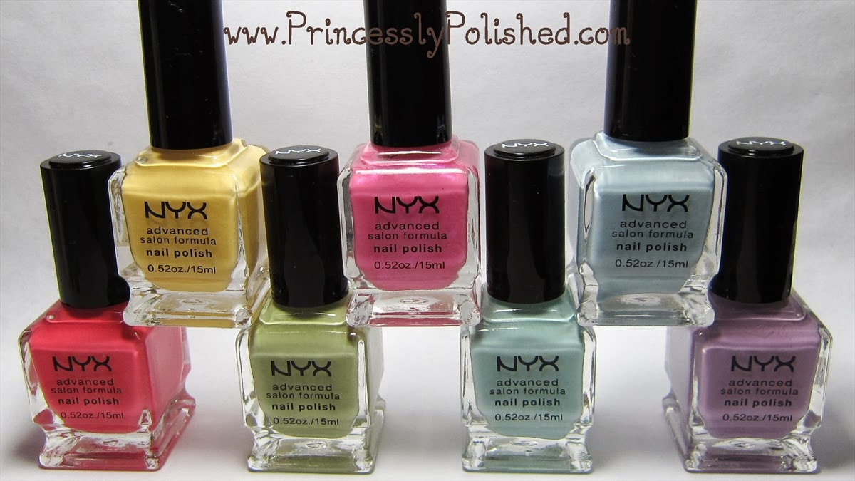 Princessly Polished: Nyx Advanced Salon Formula Nail ...