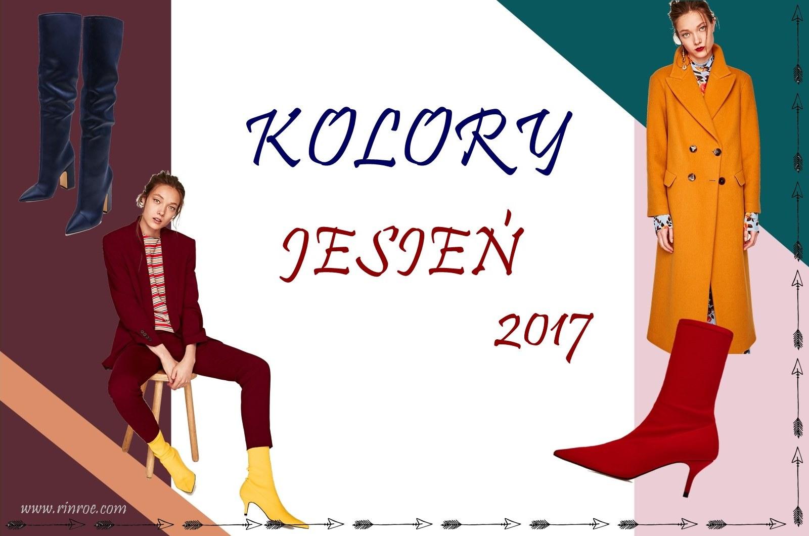 Modne kolory na jesień 2017