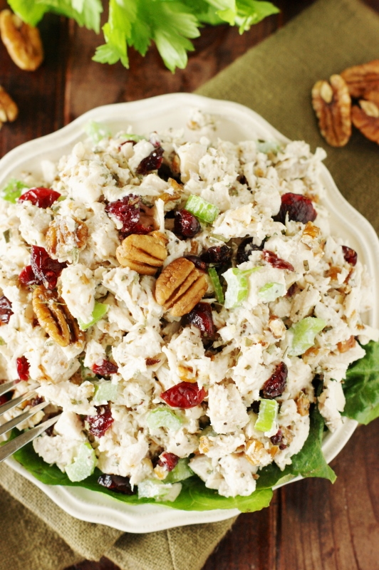 Tarragon Chicken Salad ~ Loaded with big flavor from tarragon, dried ...