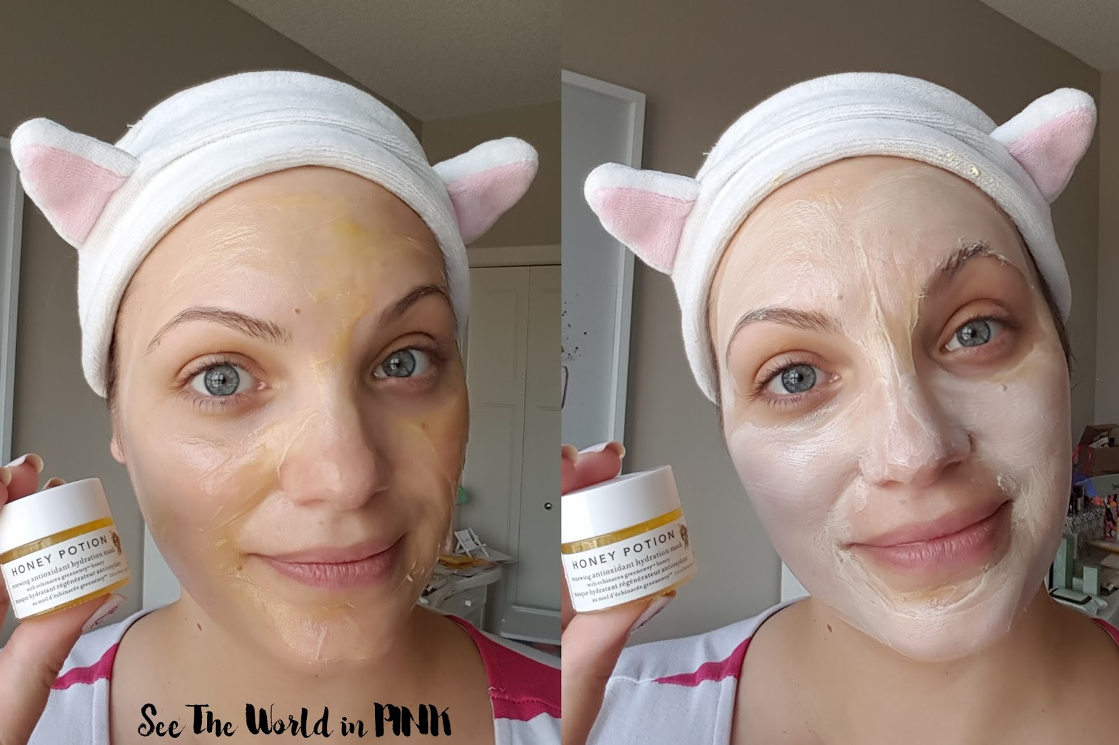 Mask Wednesday - Farmacy Honey Potion Renewing Antioxidant Hydration Mask Review