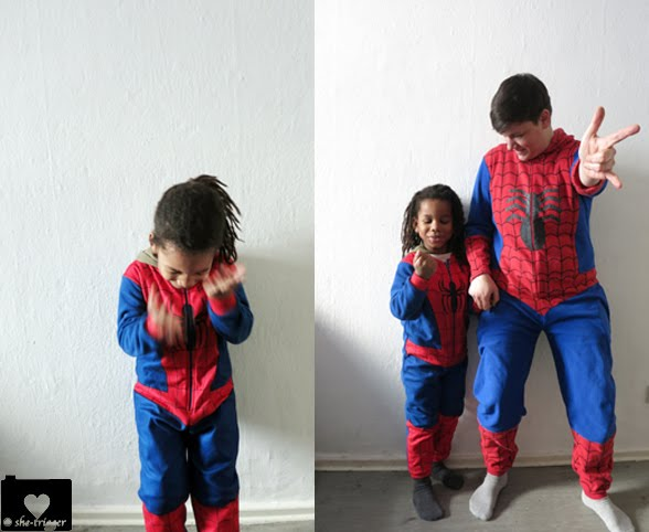 the real spideys