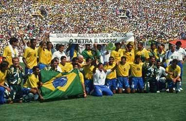 brazil juara dunia 1994 dan didedikasikan untuk ayrton senna