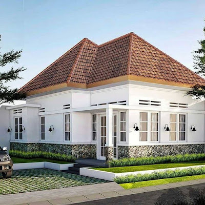 model rumah clasic sederhana