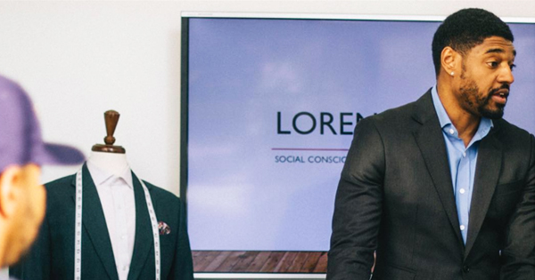 Loren Spratt, black-owned luxury clothing brand